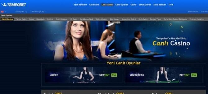 tempobet canli casino sitesi